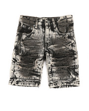 Arcade Styles - Ripped Denim Shorts (4-7)-2342923