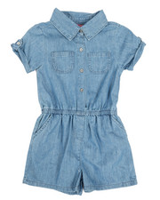 Rompers - Chambray Romper (7-16)-2346010