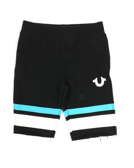 True Religion - French Terry Stripe Shorts (4-7)