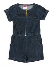 Rompers - Chambray Romper (4-6X)-2345957