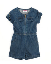 Rompers - Chambray Romper (2T-4T)-2345949