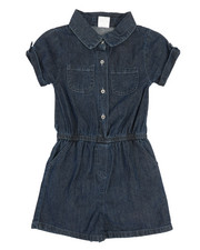 Rompers - Chambray Romper (7-16)-2345998