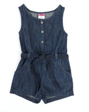 Rompers - Chambray Romper (4-6X)-2345913