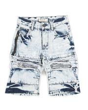 Sizes 8-20 - Big Kids - Ripped Denim Shorts (8-18)-2342866