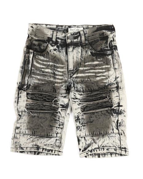 Arcade Styles - Ripped Denim Shorts (8-18)