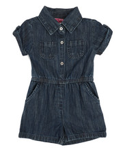 Rompers - Chambray Romper (2T-4T)-2345990