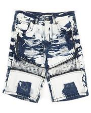 Sizes 8-20 - Big Kids - Ripped Denim Shorts (8-18)-2342885