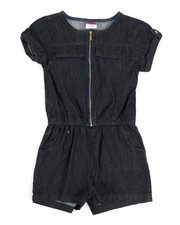 Rompers - Chambray Romper (7-16)-2345965