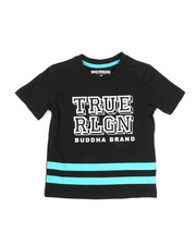 True Religion - Block Letter Tee (2T-4T)-2346394
