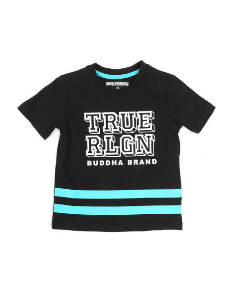 True Religion - Block Letter Tee (2T-4T)