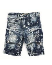 Arcade Styles - Ripped Denim Shorts (4-7)-2342935