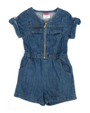 Rompers - Chambray Romper (2T-4T)-2345945
