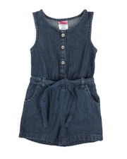 Rompers - Chambray Romper (2T-4T)-2345930
