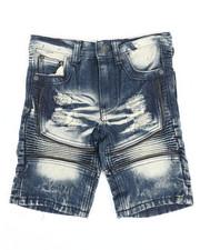 Arcade Styles - Ripped Denim Shorts (4-7)-2342899