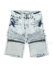 Shorts - Ripped Denim Shorts (8-18)-2342878