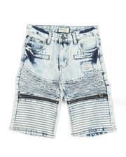 Sizes 8-20 - Big Kids - Ripped Denim Shorts (8-18)-2342878