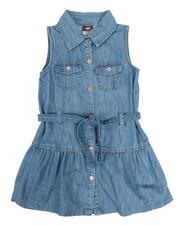 Dresses - Denim Dress (4-6X)-2345978