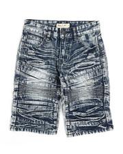 Sizes 8-20 - Big Kids - Ripped Denim Shorts (8-18)-2342854