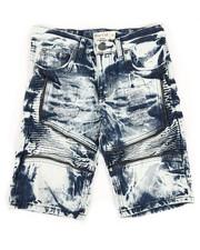 Sizes 8-20 - Big Kids - Ripped Denim Shorts (8-18)-2342892