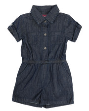 Rompers - Chambray Romper (4-6X)-2345994