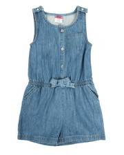 Rompers - Chambray Romper (7-16)-2345927