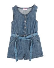 Rompers - Chambray Romper (2T-4T)-2345942