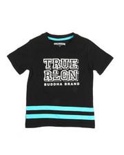 True Religion - Block Letter Tee (4-7)-2346389