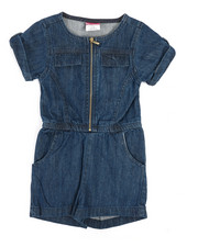 Rompers - Chambray Romper (4-6X)-2345961
