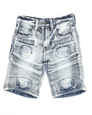 Arcade Styles - Ripped Denim Shorts (4-7)-2342837