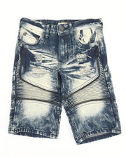 Shorts - Ripped Denim Shorts (8-18)-2342904