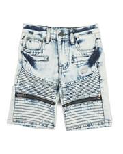 Arcade Styles - Ripped Denim Shorts (4-7)-2342873
