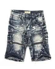 Shorts - Ripped Denim Shorts (8-18)-2342940