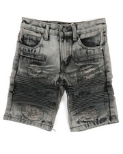 Arcade Styles - Ripped Denim Shorts (4-7)-2346756