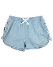 Sizes 4-6x - Kids - Lace-Up Detail Shorts (4-6X)-2346538