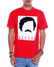Shirts - NARCOS TEE W/CHENILLE PATCH-2349045