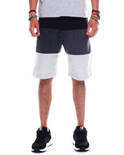 Athleisure for Men - Men's Color Block Tech Fleece Short-2348384