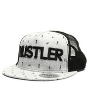 Hustler - Girls All Over Print Snapback Hat-2343642