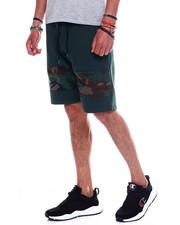 Men - Men's Camo Panel Tech Fleece Short-2348406