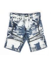Arcade Styles - Ripped Denim Shorts (4-7)-2346771