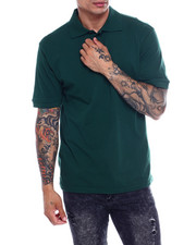 Shirts - Solid Polo-2349536