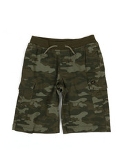 Bottoms - Stretch Pull-On Cargo Shorts (8-20)-2348269