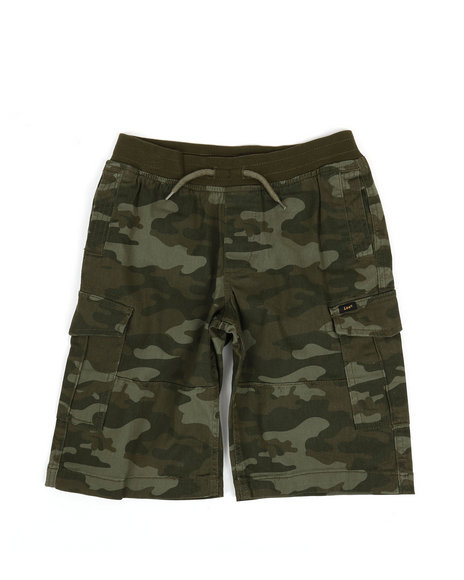 Lee - Stretch Pull-On Cargo Shorts (8-20)