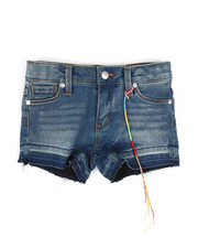 Girls - Hipster Hem & Release Shorts (4-6X)-2348254