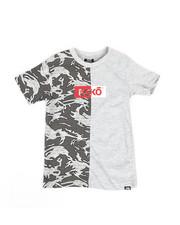 Boys - Camo Ecko Tee (4-7)-2346871