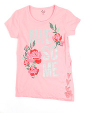 Girls - Lace-Up Detail Top (7-16)-2346722
