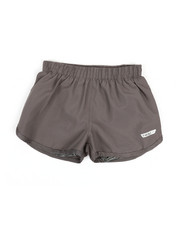 Bottoms - Knit Under-Short Woven Shorts (7-16)-2348721