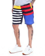Spring-Summer-M - MULTI STRIPE COLORBLOCK BOARD SHORT-2350283