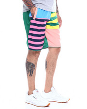 Spring-Summer-M - MULTI STRIPE COLORBLOCK BOARD SHORT-2350310