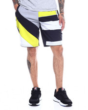 Spring-Summer-M - MULTI STRIPE COLORBLOCK BOARD SHORT-2350336
