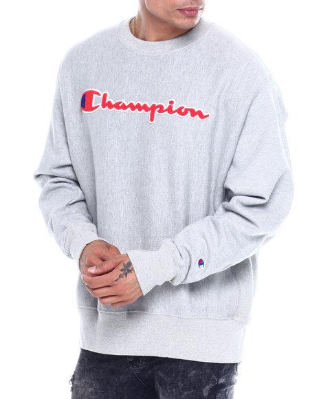 Champion - REVERSE WEAVE CHENILLE SCRIPT CREW